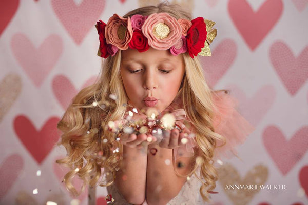 Valentine's Day Photography backdrops backgrounds photoshoop props true love