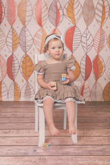 Photography Backdrop Background | Falling Leaves