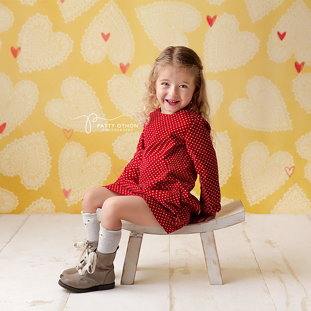 Sweetheart photography backdrop & background