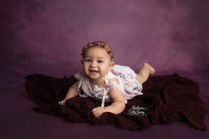Deep Plum photography backdrop & background
