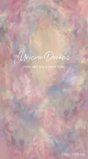 Unicorn Dreams photography backdrop & background
