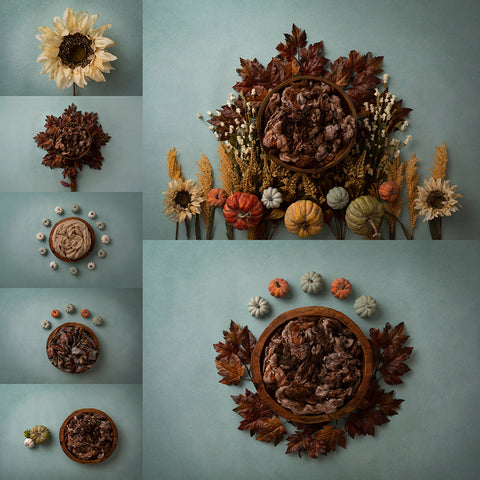 Digital Backdrop | Autumn Days Collection