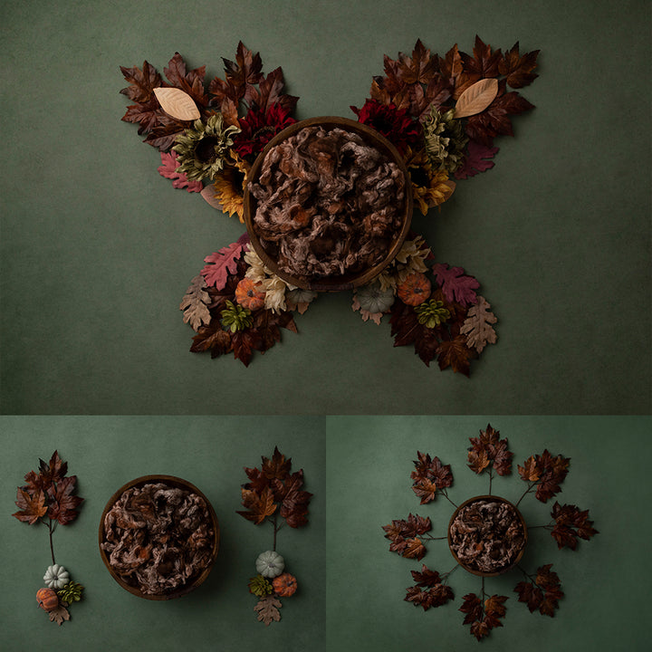 Autumn Leaves Collection | Digital photography backdrop & background