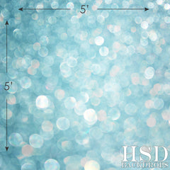 Photography Backdrop - Photo Background | Blue Bokeh