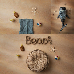 Digital Backdrop | Beach Day Collection