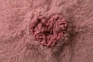 Newborn Digital Backdrop | Bunches of Love Pink photography backdrop & background