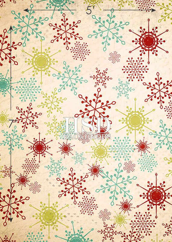 Merry & Bright photography backdrop & background