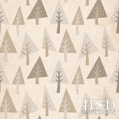 Holiday Photography Backdrop | Whimsical Forest