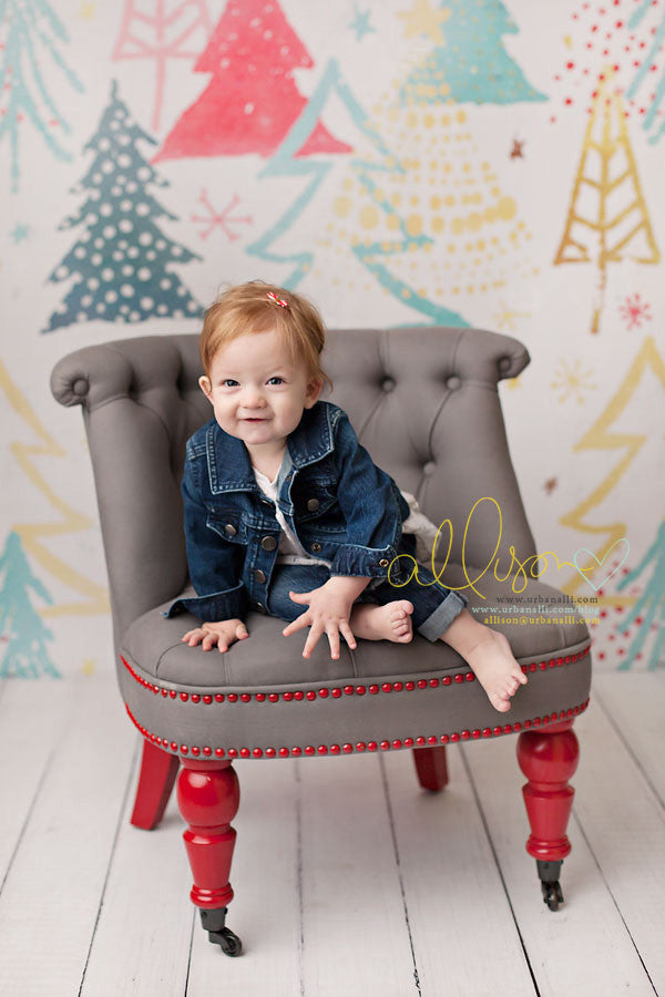 Holiday | All is Bright photography backdrop & background