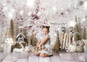 Holiday | Oh Christmas Tree photography backdrop & background