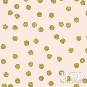 Gold Confetti photography backdrop & background