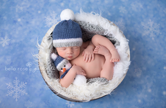 Winter Photography Backdrop | Baby it's Cold Outside