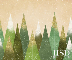 Christmas Photography Backdrop Background | New Meadows