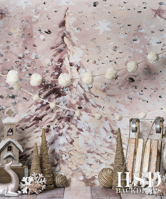 Rustic Christmas Photography Backdrops Photo Props HSD