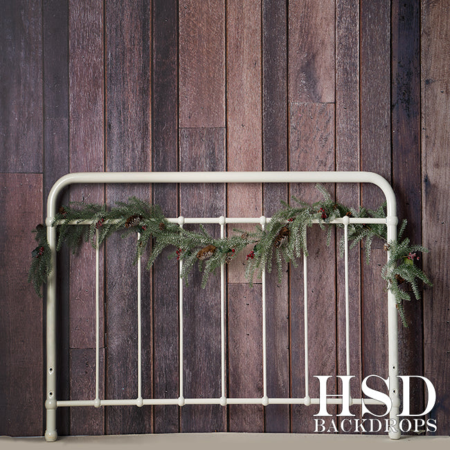 Christmas | Rustic Headboard - HSD Photography Backdrops