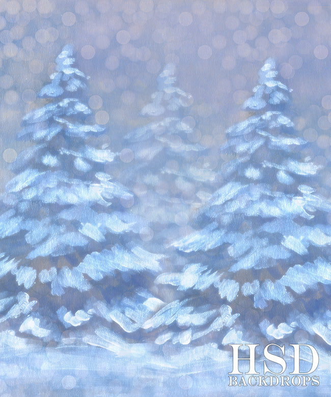 Christmas Background Portrait.Photography Backdrop Dreaming Of A White Christmas