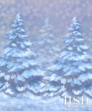Dreaming of a White Christmas - HSD Photography Backdrops