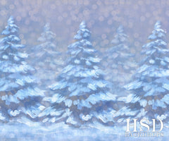 Photography Backdrop | Dreaming of a White Christmas