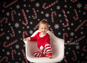 Candy Canes Photo photography backdrop & background