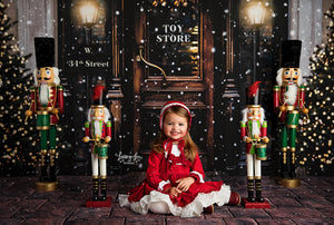 Miracle on 34th Street photography backdrop & background