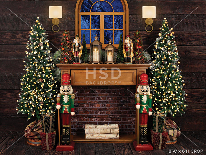 Nutcracker Christmas photography backdrop & background