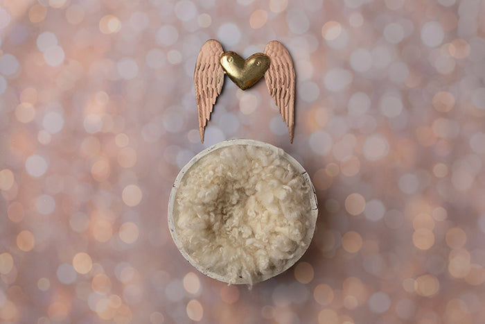 Christmas Angel | Digital photography backdrop & background