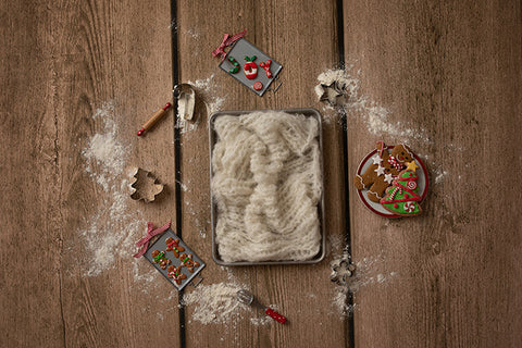 Digital Backdrop | Gingerbread Coll. | Christmas Baking