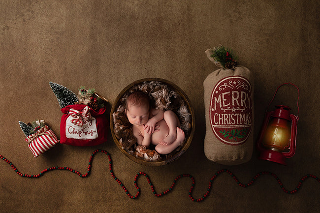 Christmas Bundle I | Christmas Lantern Coll. | Digital photography backdrop & background