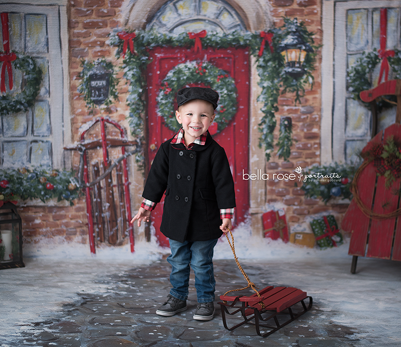 Winter Stone Floor photography backdrop & background