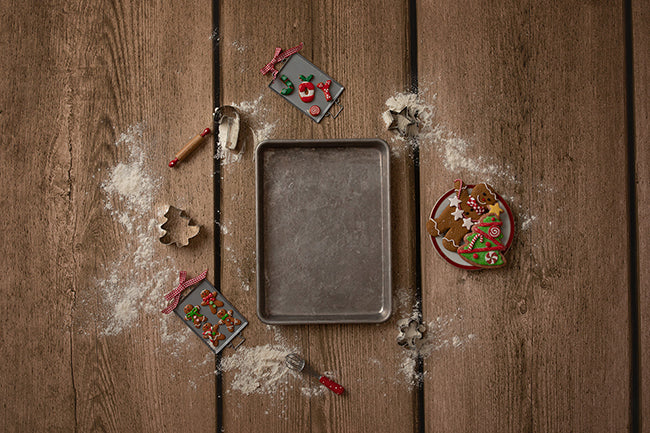 Cookie Sheet | Gingerbread Coll. | Digital photography backdrop & background