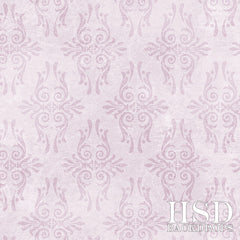 Photography Backdrop | Vintage Damask Purple