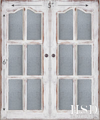 Photography Backdrop | Cottage Doors