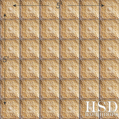 Photography Backdrop | Antique Tin Tile