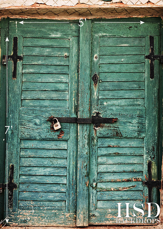 Photography Backdrops Photo Background Old Rustic Vintage Doors