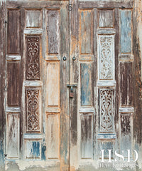Photography Backdrop | Vintage Wood Doors
