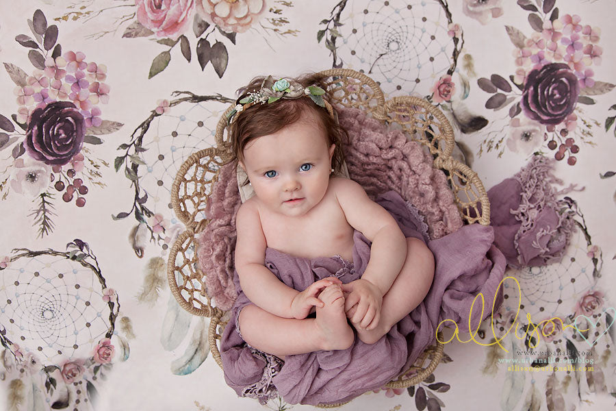Boho | Dream Catcher photography backdrop & background