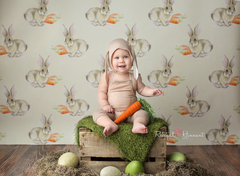 Easter Photography Backdrop | Cottontail