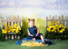 Spring Photography Backdrop | Darling Daisies