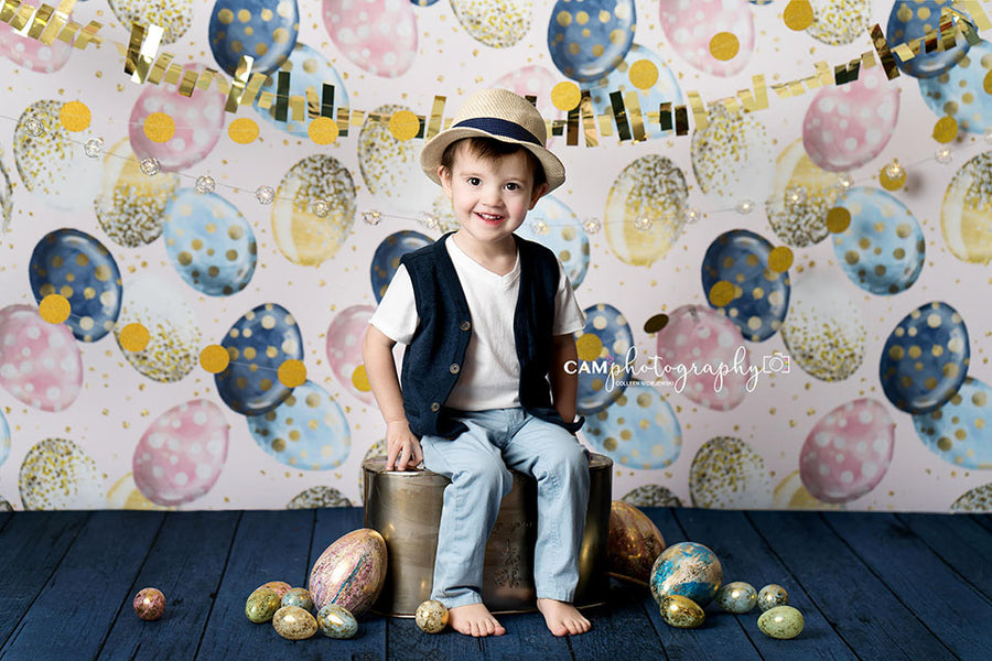 Egg-Stravaganza photography backdrop & background