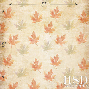 Autumn Leaves photography backdrop & background