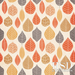 Fall Leaves photography backdrop & background
