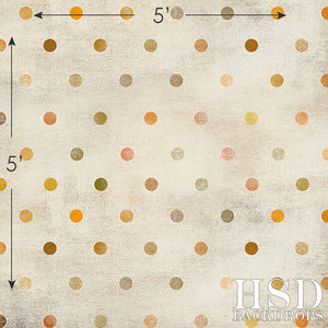 Fall Grunge Polka Dot - HSD Photography Backdrops
