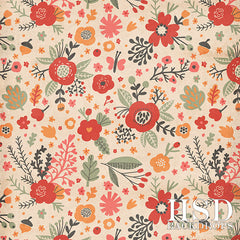 Photography Backdrop Background | Aubrey Floral