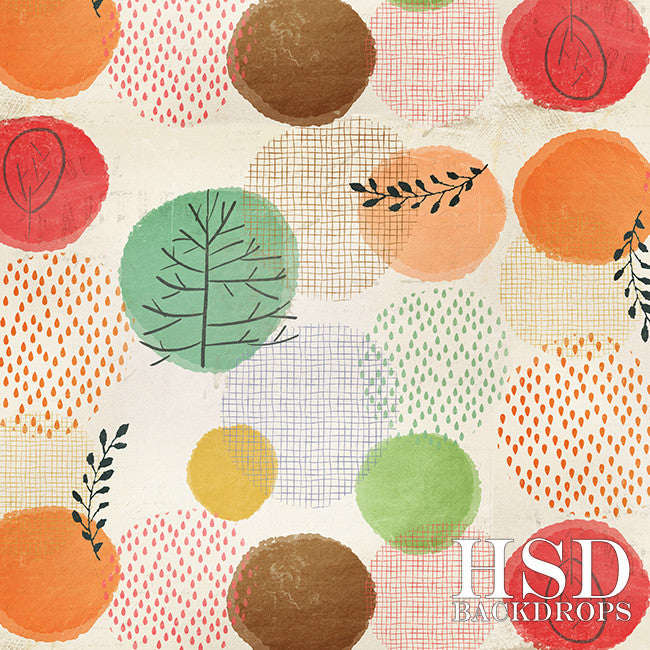 Photography Backdrop Background | Fall Palette