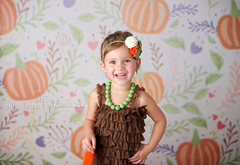 Photography Backdrop Background | Pumpkin Patch