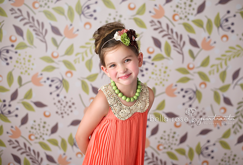 Mia Floral - HSD Photography Backdrops