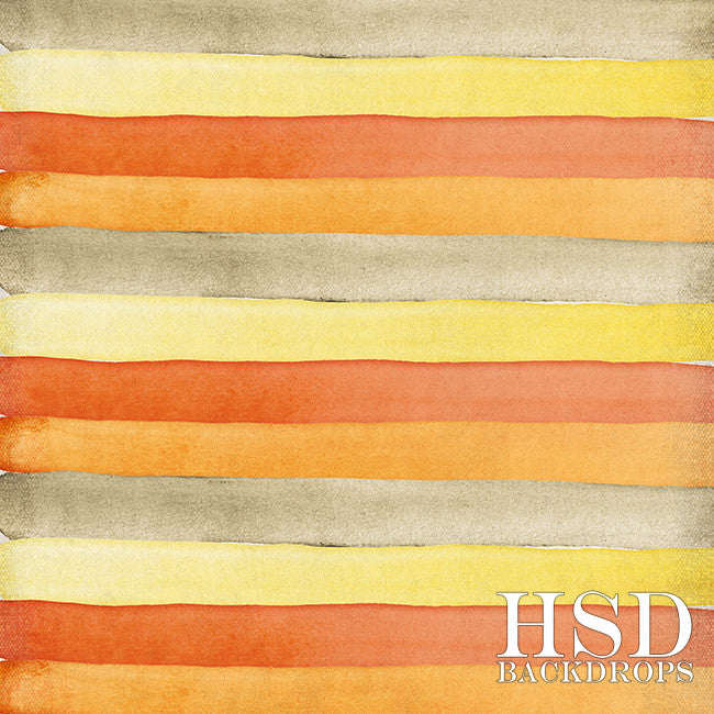 Photography Backdrop Background | Fall Watercolor Stripes