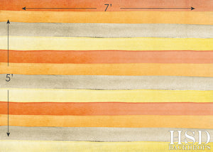 Fall Watercolor Stripes photography backdrop & background