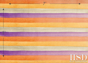 Halloween Watercolor Stripes photography backdrop & background