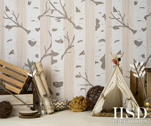 Woodland Set Up - HSD Photography Backdrops